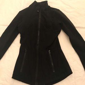 A lulu lemon black tight jacket